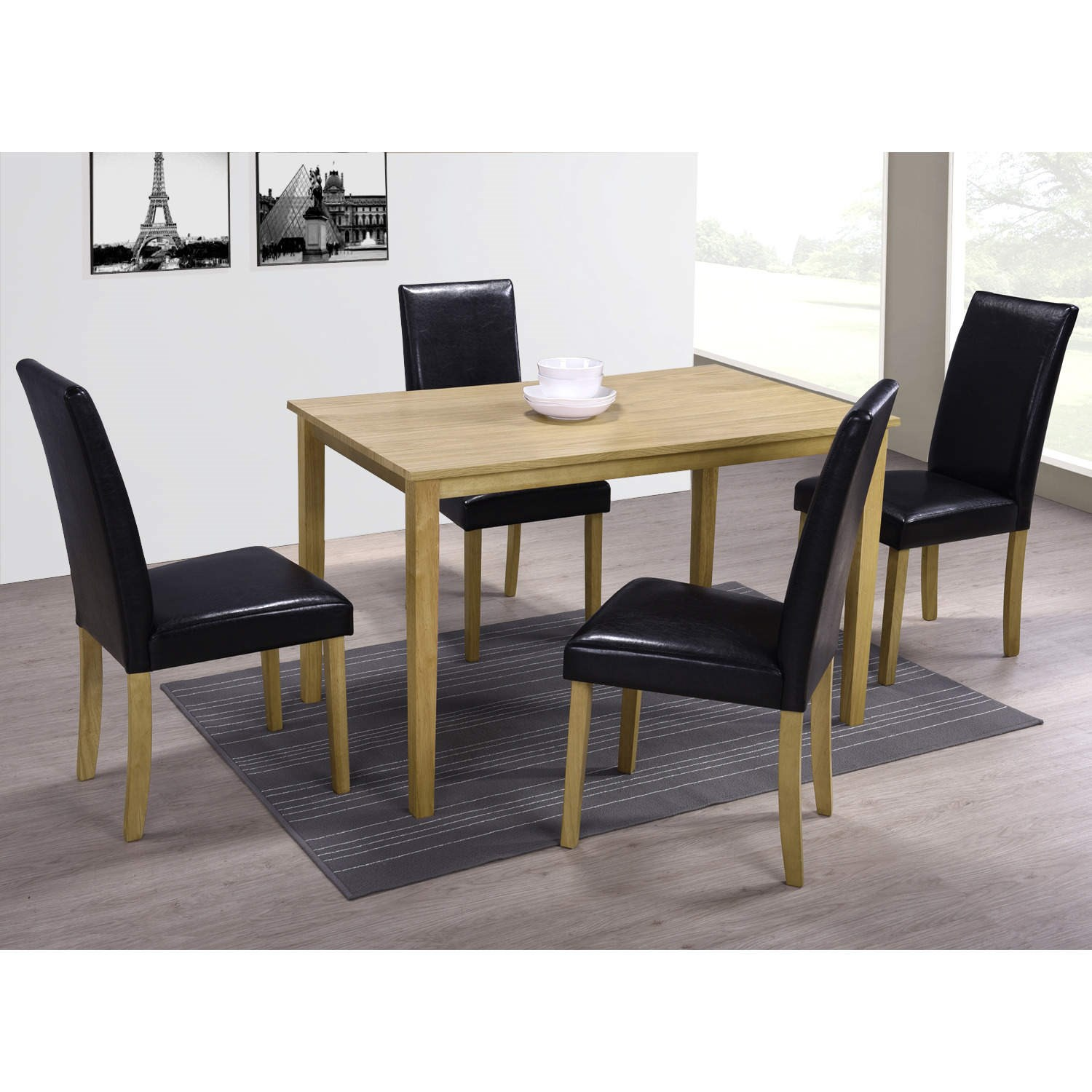 medium oak dining table ebay
