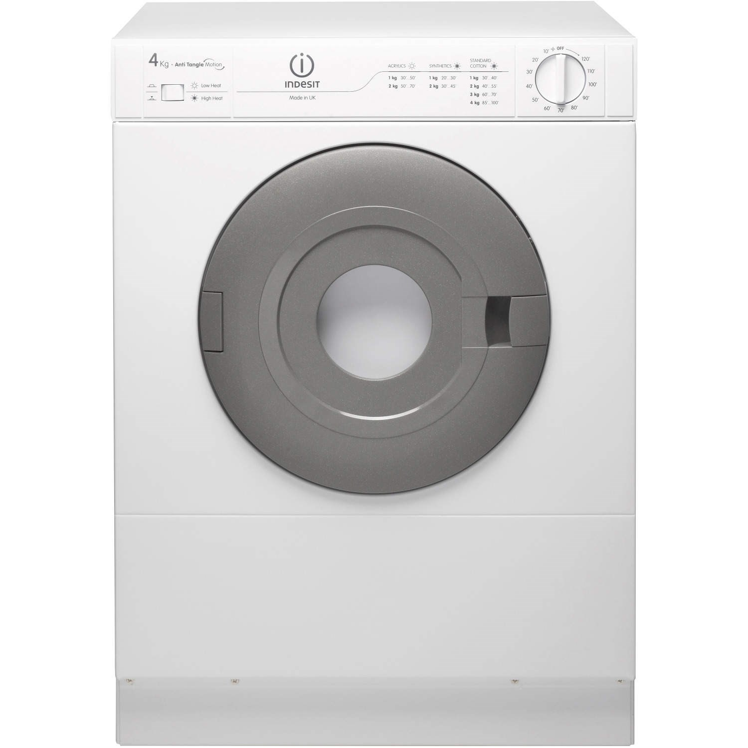 Non Vented Dryer ~ Indesit is v kg compact freestanding vented tumble dryer