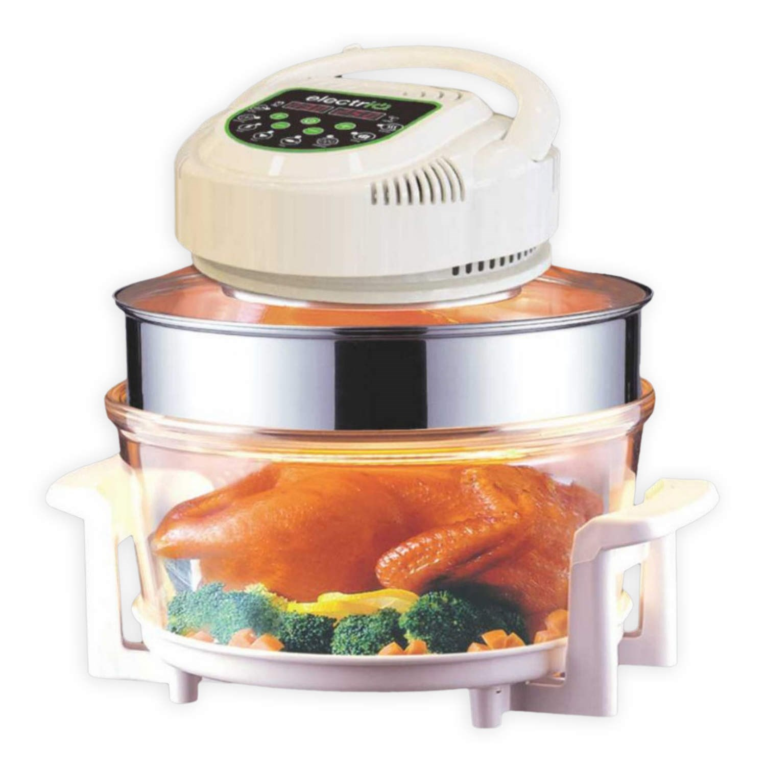 17 Litre Digital Premium Halogen Convection Oven Cooker + Extender Ring
