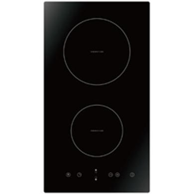 electriq 30cm domino two zone induction hob black eiqehind30 ebay. Black Bedroom Furniture Sets. Home Design Ideas
