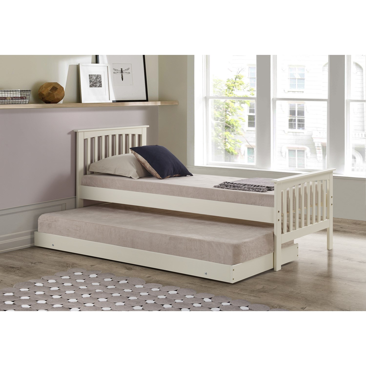How To Raise Bed Under Trundle Bed