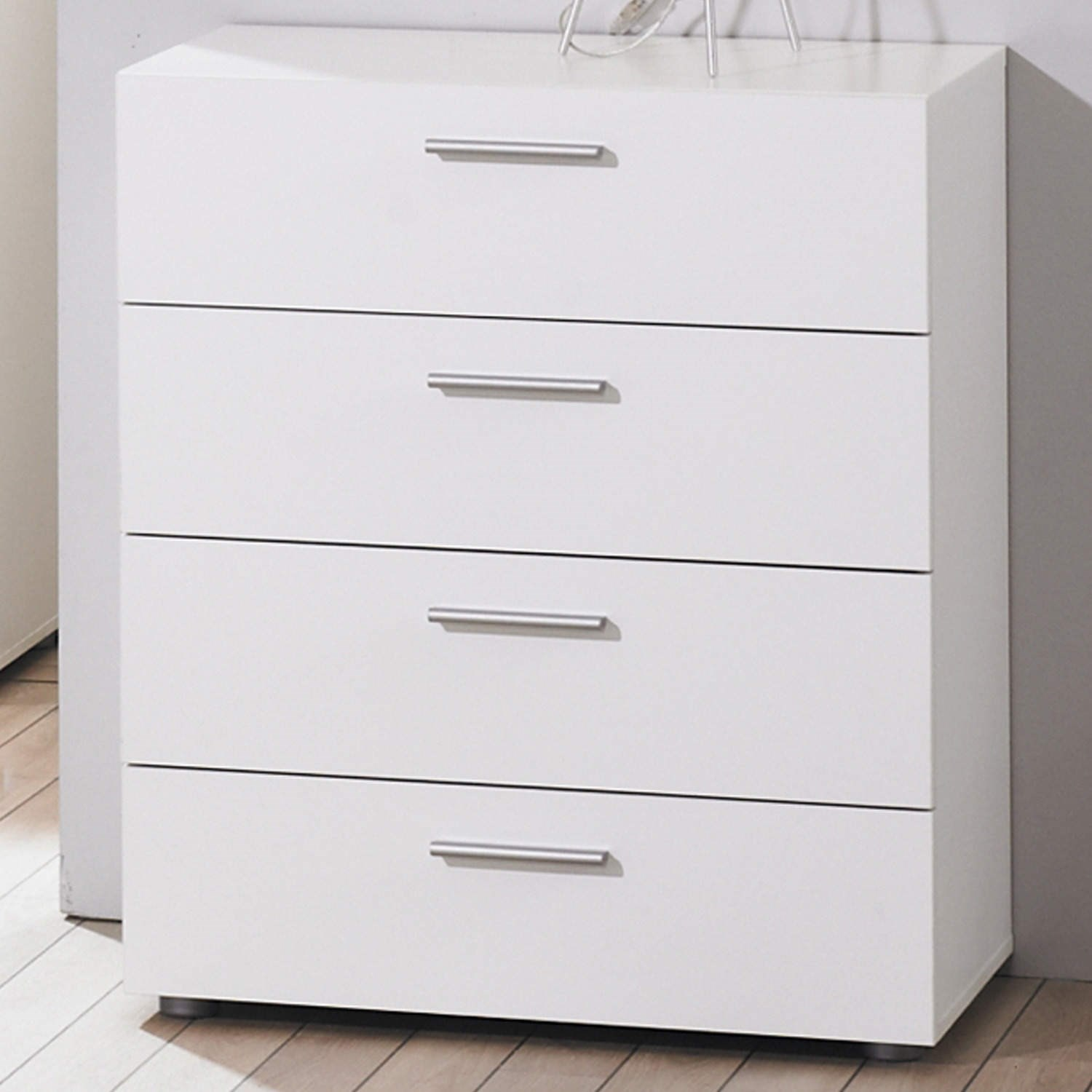 Modern white simple billi pepe drawer chest of drawers