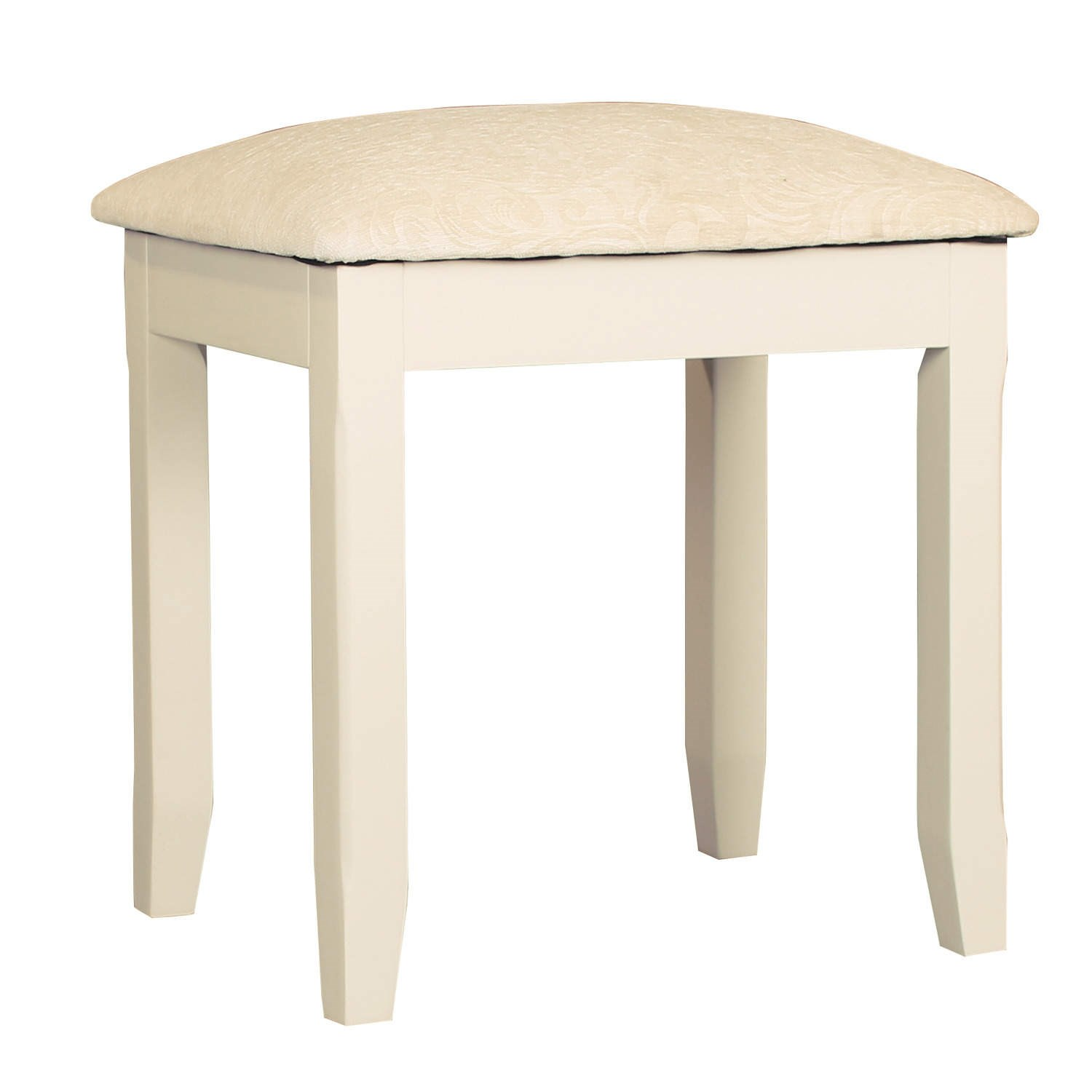 Wonderful image of Savannah Solid Acacia Wood Dressing Table Stool in Ivory SAV008 eBay with #91743A color and 1500x1500 pixels