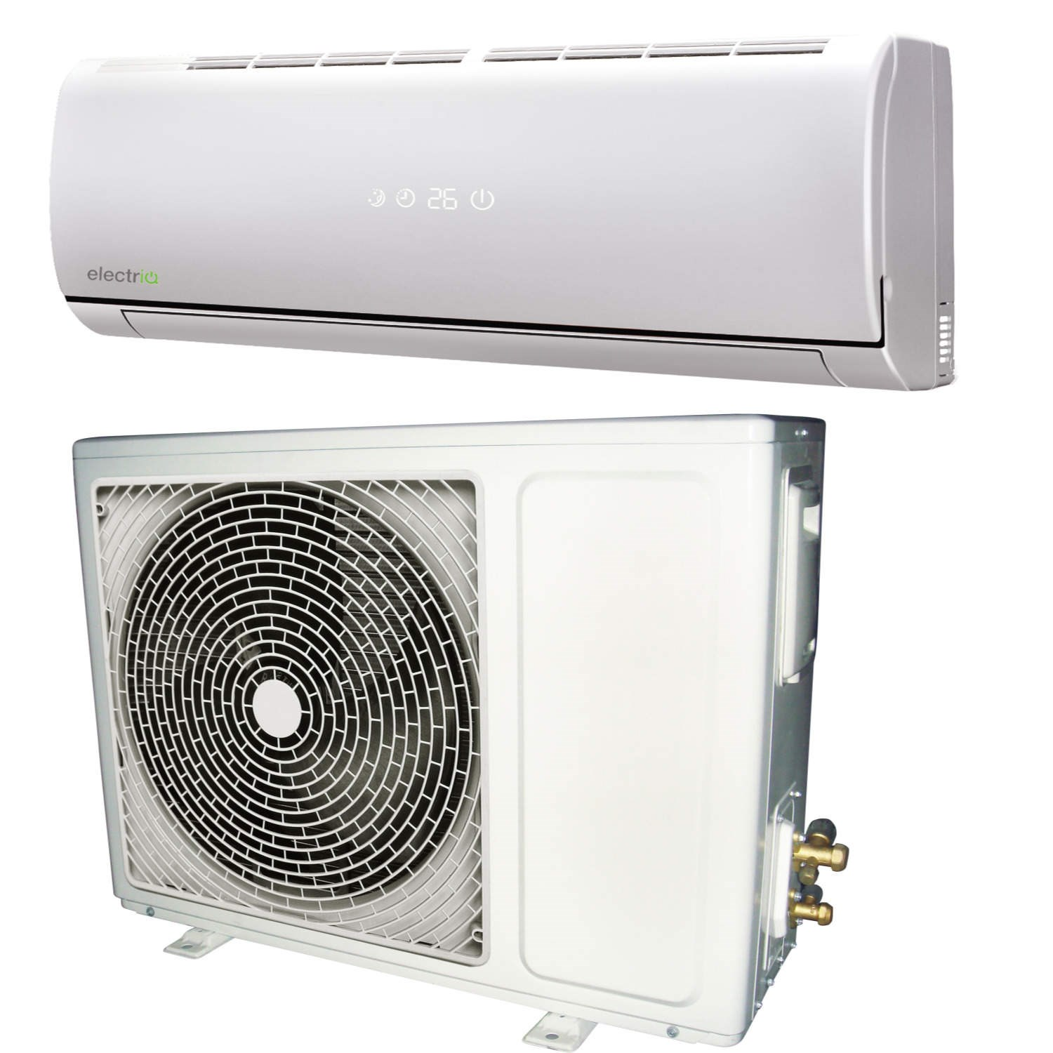 powered A   easy fit Inverter Wall Split Air Condi eIQ 9WMINV eBay #625D4E
